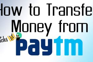 how to transfer money from paytm
