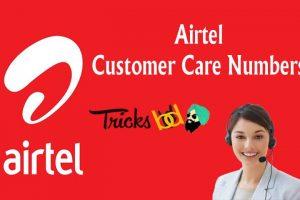 Airtel Customer Care Numbers