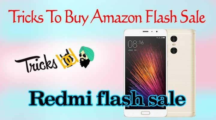 Amazon flash sale