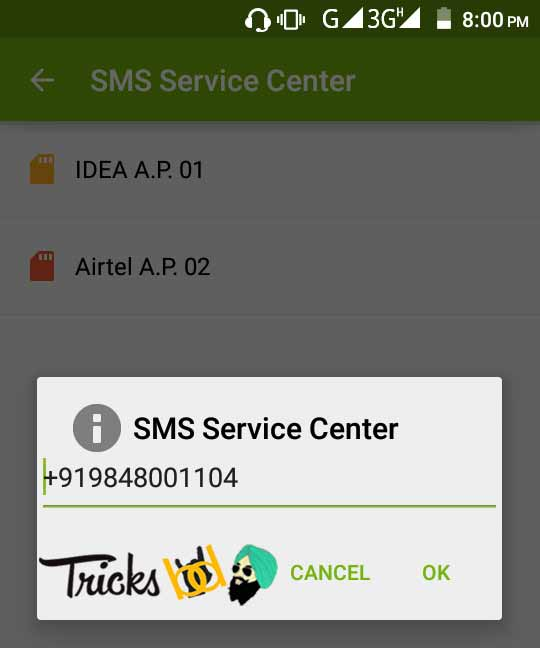Latest) SMS Center Number For All Mobile Operators